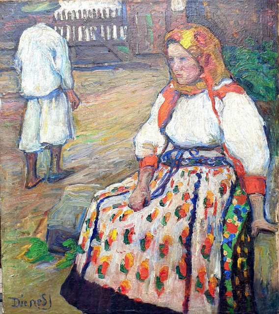 Dienes: Folk costume